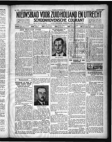 Schoonhovensche Courant 1936-11-20