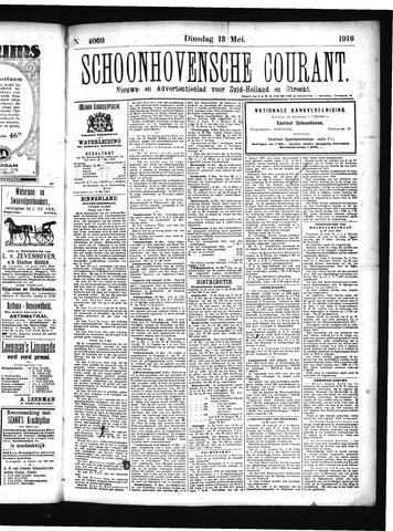 Schoonhovensche Courant 1919-05-13