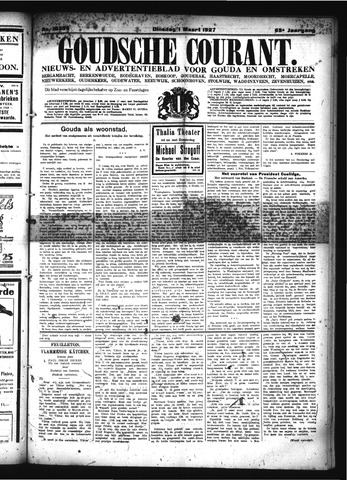 Goudsche Courant 1927-03-01