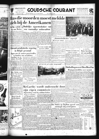 Goudsche Courant 1954-04-23
