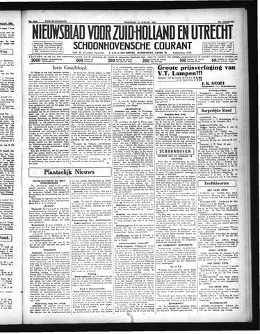 Schoonhovensche Courant 1935-01-23