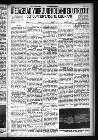 Schoonhovensche Courant 1932-10-03