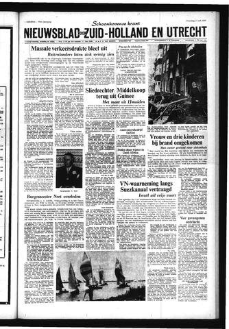 Schoonhovensche Courant 1967-07-17