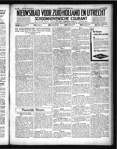 Schoonhovensche Courant 1935-09-27