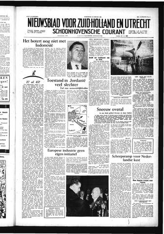 Schoonhovensche Courant 1956-01-11