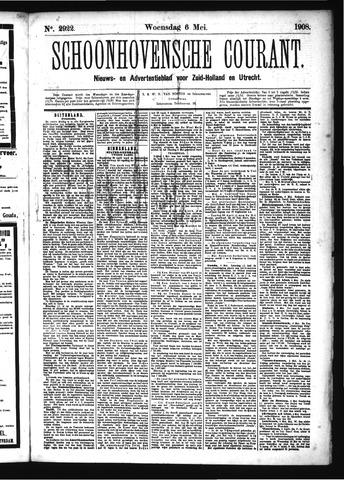Schoonhovensche Courant 1908-05-06