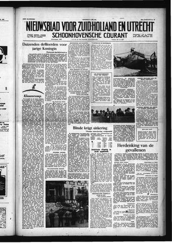 Schoonhovensche Courant 1956-05-02