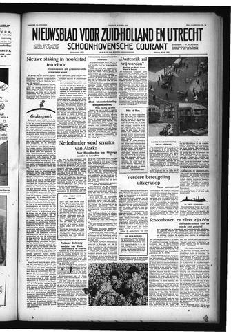 Schoonhovensche Courant 1955-04-15