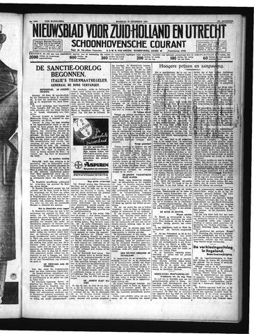 Schoonhovensche Courant 1935-11-18