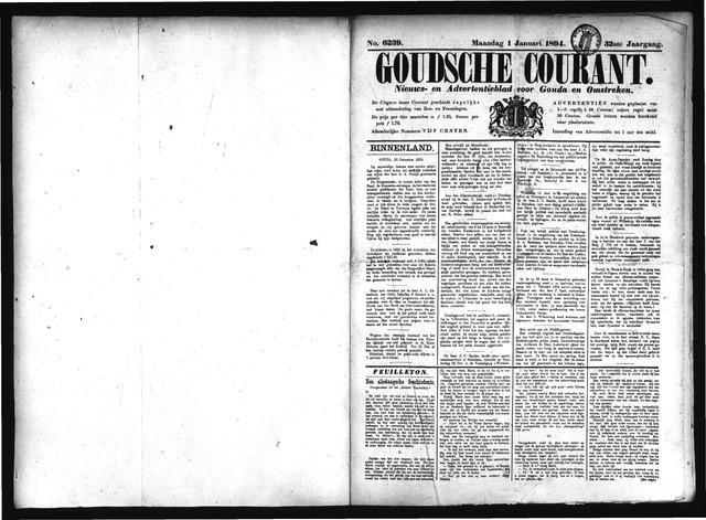 Goudsche Courant 1894