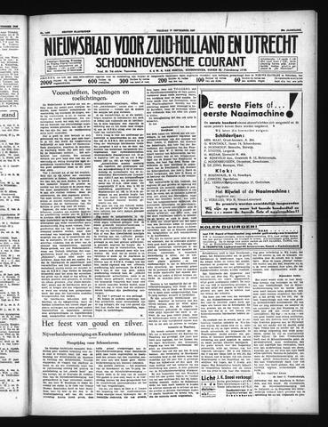 Schoonhovensche Courant 1937-09-17