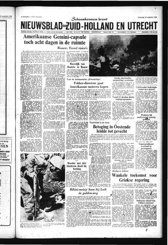 Schoonhovensche Courant 1965-08-23
