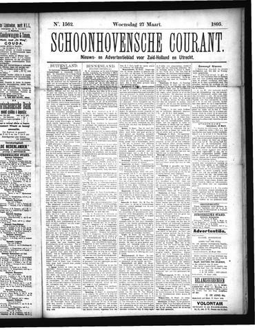 Schoonhovensche Courant 1895-03-27