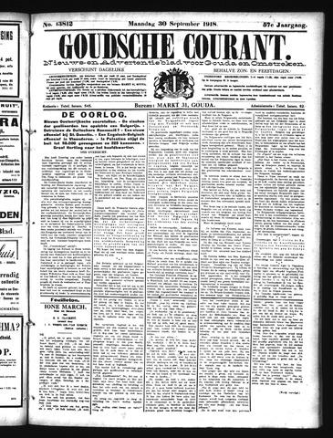 Goudsche Courant 1918-09-30