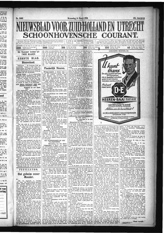 Schoonhovensche Courant 1928-03-14