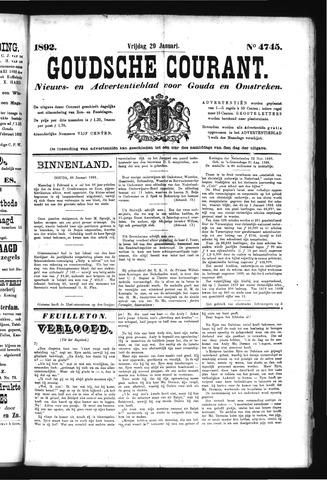 Goudsche Courant 1892-01-29