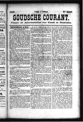 Goudsche Courant 1887-02-11
