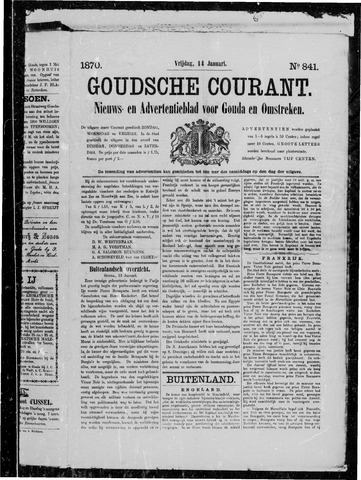 Goudsche Courant 1870-01-14