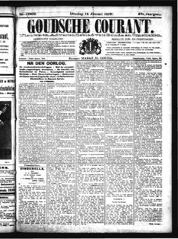 Goudsche Courant 1919-01-14