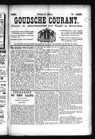Goudsche Courant 1891-01-20