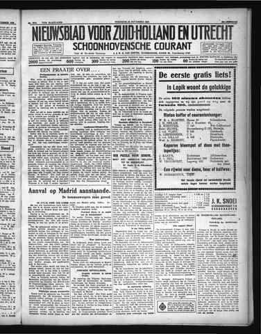 Schoonhovensche Courant 1936-09-23
