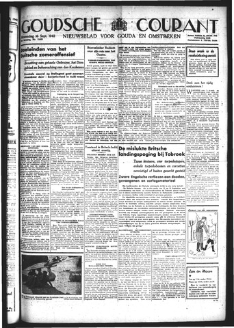 Goudsche Courant 1942-09-16