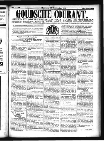 Goudsche Courant 1931-09-14