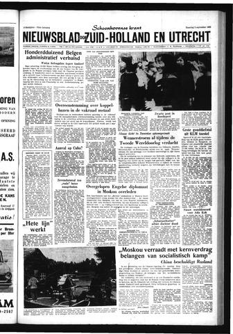 Schoonhovensche Courant 1963-09-02