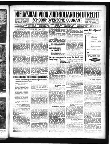 Schoonhovensche Courant 1939-12-15