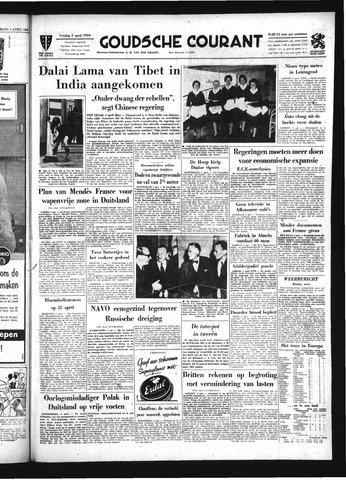 Goudsche Courant 1959-04-03