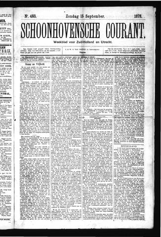 Schoonhovensche Courant 1878-09-15