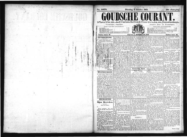 Goudsche Courant 1911-10-03