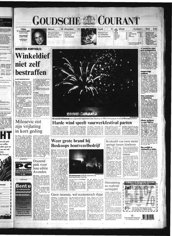 Goudsche Courant 2001-08-17