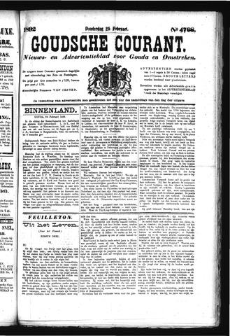 Goudsche Courant 1892-02-25