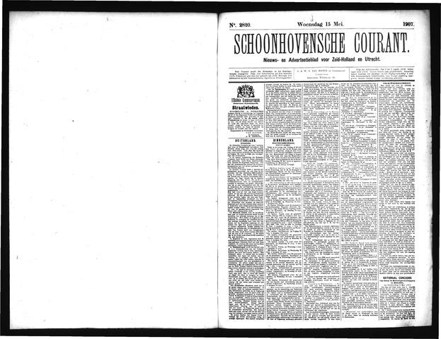 Schoonhovensche Courant 1907-05-15