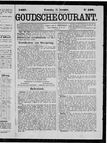 Goudsche Courant 1867-12-25