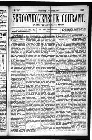 Schoonhovensche Courant 1883-12-15