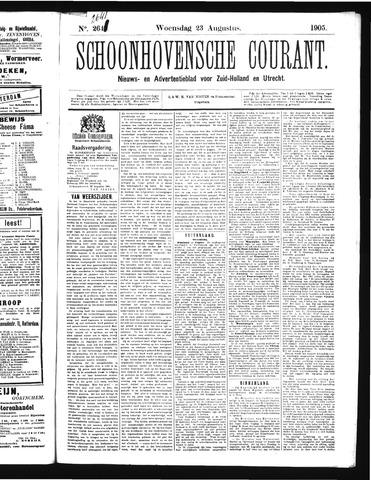 Schoonhovensche Courant 1905-08-23
