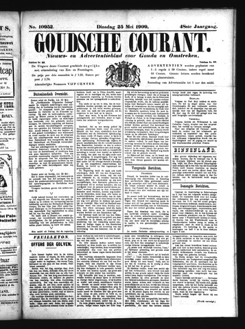 Goudsche Courant 1909-05-25