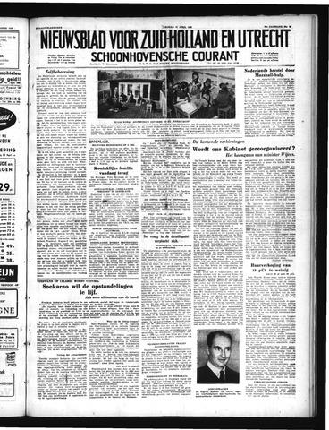 Schoonhovensche Courant 1950-04-14