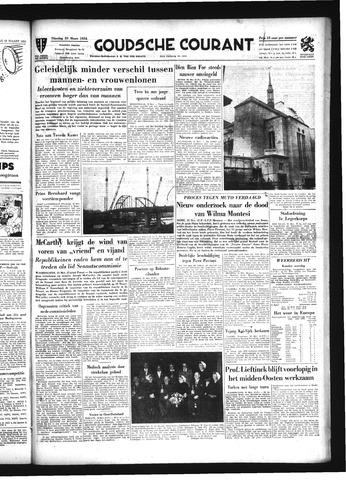 Goudsche Courant 1954-03-23