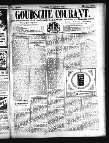 Goudsche Courant 1913-10-08