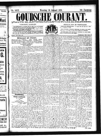Goudsche Courant 1920-01-26