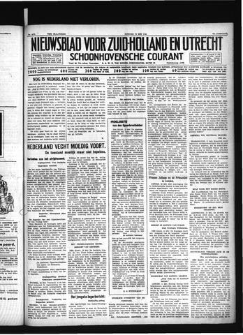 Schoonhovensche Courant 1940-05-14