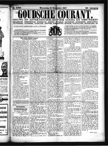 Goudsche Courant 1927-11-23