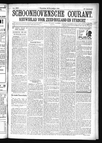 Schoonhovensche Courant 1925-11-30