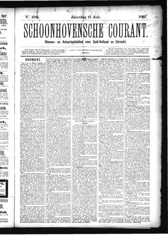Schoonhovensche Courant 1895-07-27