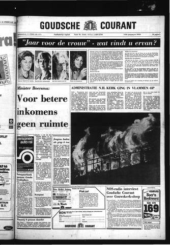Goudsche Courant 1975-02-13