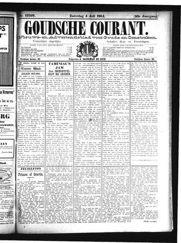 Goudsche Courant 1914-07-04