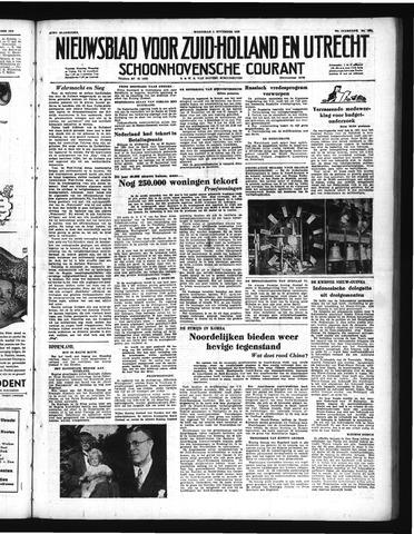 Schoonhovensche Courant 1950-11-01